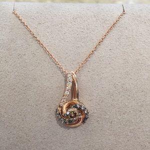 Le vian poshmark levian chocolate diamond necklace aloadofball Gallery